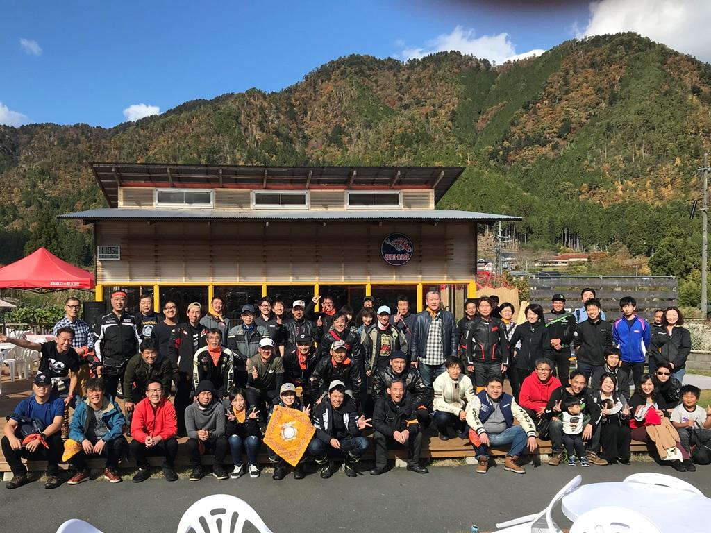 美山ライダーズカフェZERO-BASEでBBQ&ワインディングRUNミーティングに行ってきました。