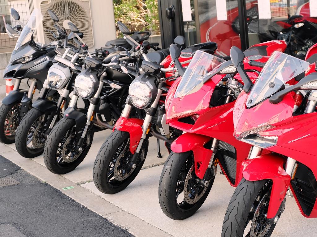 当店のデモバイク(試乗車)たちww