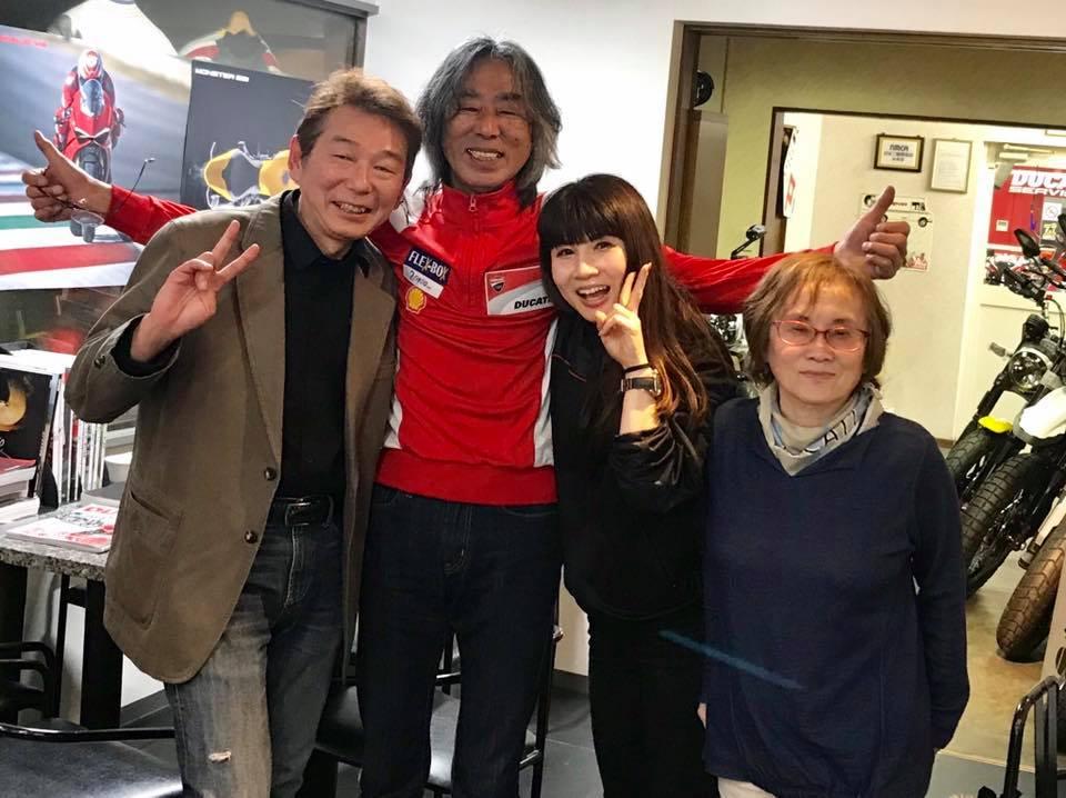岡山と姫路のドゥカティ店さんに表敬訪問してきましたww