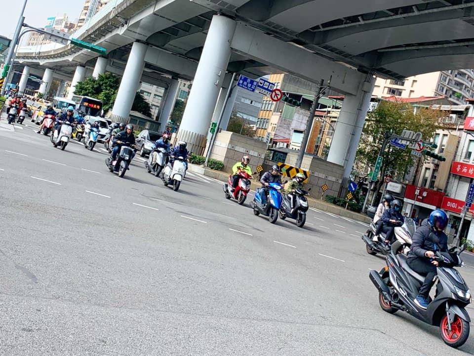 台湾のバイク事情。