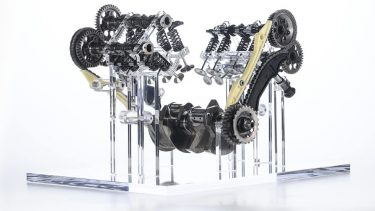 新型V4グランツーリスモエンジン発表!