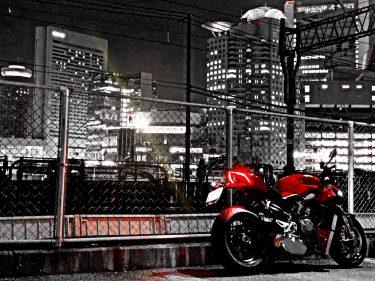 街。夜。ストファイ。